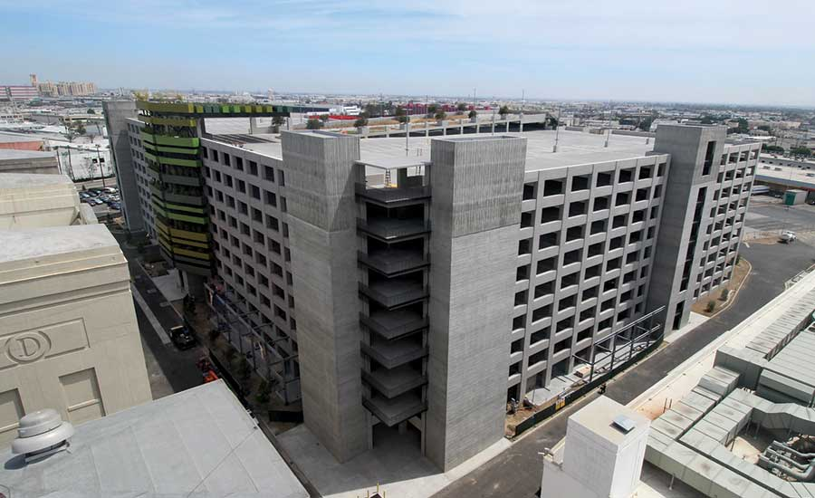 Watson Bowman Tackles Arts District's Alameda Square Parking Structure with 36″ Wide Safetyflex Expansion Joint Covers